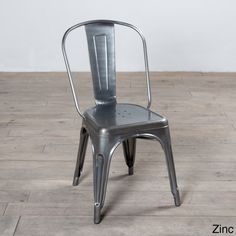 Spencer Metal Dining Chair (India) - Overstock™ Shopping - Top Rated Dining Chairs