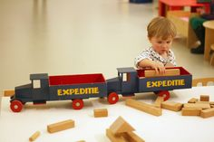 my busy boys…. For a long time I haven't seen such a magnificent exhibition! The woo. Wooden Toy Trucks, Wood Toys, Vintage Toys, Woodworking, Kids, Design, Wooden Cart, Activity Toys, Wooden Truck