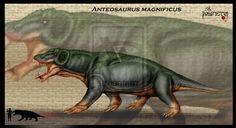 Anteosaurus magnificus by Theropsida.deviantart.com on @DeviantArt