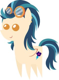 Indigo Zap Pointy Pony by kingdark0001.deviantart.com on @DeviantArt