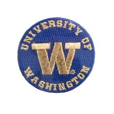 UW Embroidered Patch