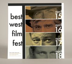 Best West Film Fest Poster on Behance