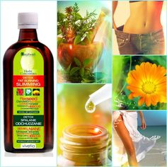 Naturalny suplement diety Detox-Spalanie-Odchudzanie w kolejnym ujęciu Juice Bottles, Drink Bottles, Fat Burning, Dandelion, Hair Beauty, Herbs, Drinks, Food, Meal