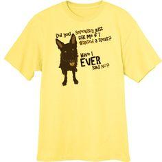 Does the Dog Want a Treat? Funny Novelty T-Shirt - Rogue Attire