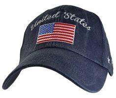 8e2399b1c3886 Made In The USA Khaki United States RWB American Flag Embroidered Baseball  Cap Hat