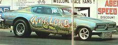 The Warlord 68 Cuda funny Car
