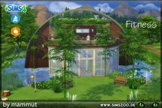 Blackys Sims 4 Zoo: Vegie Fit by mammut • Sims 4 Downloads