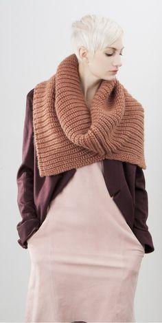 SCHAI Salt FW14 accessories scarves Malachite Vita Italian Alpaca Blend Snood