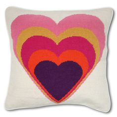 JA Heart Pillow