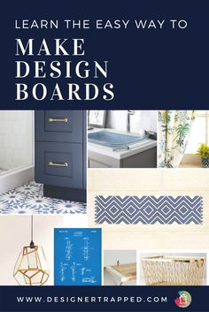 Are you sick of the rooms in your home just not feeling quite right? Learn how to make your own mood boards for free! This is how interior designers get their designs right the first time around! This is the best of the mood board tutorials out there.