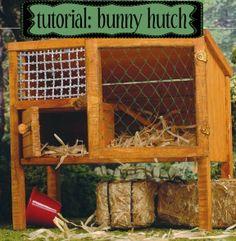 Dit konijnenhok is op alle fronten te klein, vooral ook als je rekening houdt met een voer- en waterbak en eventuele toiletbak die er nog ingezet moeten worden. Bernice Muntz