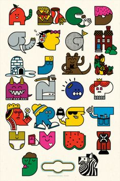 Alphabet by Mike Davis
