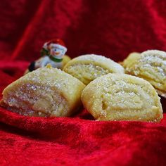 Marzipankissen Cookie Recipes, Thermomix, Bakery, Advent, Biscuits, Muffins, Sweets, Cookies, Food And Drink