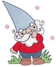 Embroidery | Free Machine Embroidery Designs | Bunnycup Embroidery | Gnomes