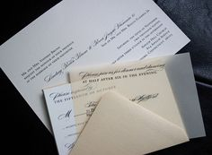 London - Wedding Invitation Sample - product images  of