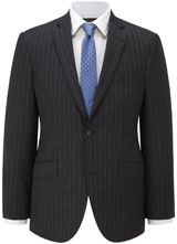 """Contemporary Fit Grey Blue Stripe Suit from """"Austin Reed"""", Purchase on discounted price using coupon codes and promotional codes."""