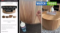 How QLD couple saved $3130 at Bunnings with Kmart coffee table DIY Kmart Coffee Table, Coffee Table Design, Timber Panelling, Carpentry Skills, Oak Panels, Tight Budget, Wood Glue, Solid Oak, Woodworking