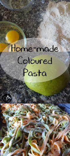 Home-made Coloured Pasta