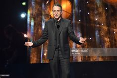 Inductee Stone Gossard of Pearl Jam speaks onstage at the 32nd Annual Rock & Roll Hall Of Fame Induction Ceremony at Barclays Center on April 7, 2017 in New York City. The event will broadcast on HBO Saturday, April 29, 2017 at 8:00 pm ET/PT