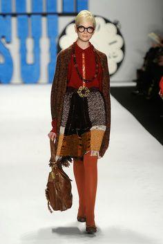 Anna Sui - Runway - Fall 2012 Mercedes-Benz Fashion Week