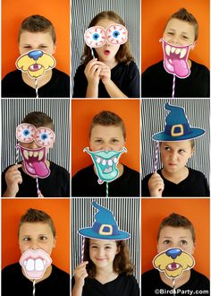 Printables Halloween Freebies à telecharger Gratuitement sur BirdsParty.fr #Halloween #Printables #Freebies