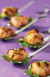 Pancetta-Wrapped Scallops