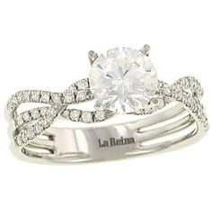 would be great with a princess cut diamond!