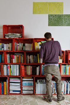 Libreria Nomade by Antonio Maria Privitera, via Behance