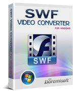 SWF Video Converter, the best software to convert Flash SWF files to AVI, XviD, DivX, MPG, MPEG 1, MPEG 2, WMV, MP4, 3GP, FLV, MOV, MPEG-4, H264 formats.