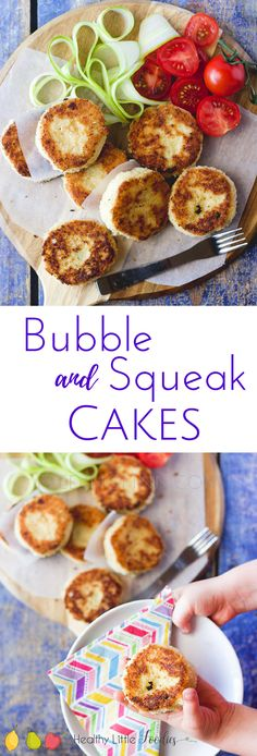 Bubble and Squeak cakes (potato and cabbage cakes) are a great way to use up leftovers and also a great way to add some veg to your kids' diet. Great for toddlers and blw.