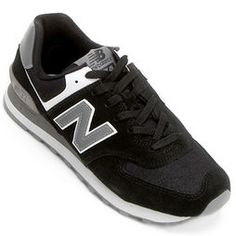Tênis New Balance Ml574 Core - Preto+Cinza