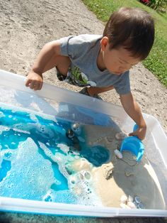 """Out of the Ocean ~ Story and Small World:  Teaching kids to """"see"""" and appreciate the beauty of nature."""