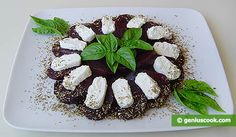 How to Make an Appetizer with Goat Cheese and Beet | Dietary Cookery | Genius cook - Healthy Nutrition, Tasty Food, Simple Recipes
