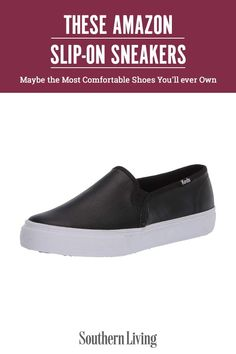 Function meets fashion with slip-on sneakers, which, we're happy to report, are on-trend for 2021. We've sifted through over a hundred pairs of slip-on sneakers on Amazon to provide you with a round-up of the 15 best sneakers. Slip into style in the pair of sneakers that best suits your lifestyle. #amazonfinds #summerfashion #bestsliponshoes #amazonfashion #southernliving Southern Fashion, Southern Style, Best Sneakers, Slip On Sneakers, Most Comfortable Shoes, Cool Suits, Fashion Beauty, Amazon, Amazons