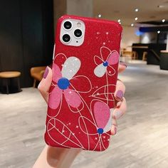 Cute Phone Cases Hot Selling for iPhone Xr Glitter Case for Girl 11Pro Max Print Luxury Fashion Casing 6s 7 8 Plus Bling Cover Xr with Ring Stand | Touchy Style Phone Cases Iphone6, Iphone 6, Iphone Cases, Glitter Phone Cases, Cute Phone Cases, Fashion Cover, Ring Stand, Iphone Models, Smartphone