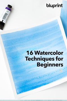 Hold it right there: Before you start adding fancy details and textures to your work, you need to know a few of the most basic watercolor painting techniques. Use these to get started, then build… Learn Watercolor Painting, Watercolor Paintings Nature, Dry Brush Painting, Watercolor Beginner, Watercolor Paintings For Beginners, Watercolor Pictures, Watercolor Projects, Watercolor Tips, Watercolor Canvas