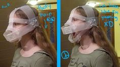 Ice's Fursuit: Head Day 2 by =Ice-Artz on deviantART