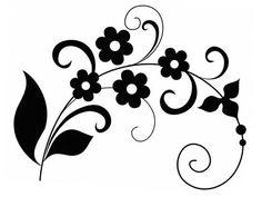 Трафареты для декора стен, мебели своими руками, шаблоны Flower Silhouette, Simple Designs, Body Art, Scrap, Templates, Blog, Handmade, Home Decor, Lotus Flowers