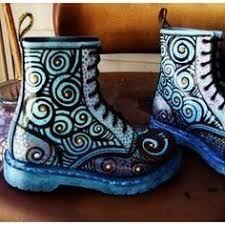 """Résultat de recherche d'images pour """"customized dr martens boots"""""""