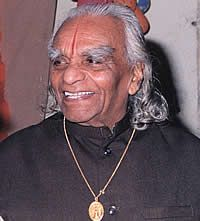BKS Iyengar is the founder of the Iyengar style of yoga. At 93 years young and still sharp as a tack he is still practicing and teaching at his school in Pune, India. He has influenced many styles of yoga including Anusara which is one of my favorite styles. I think he is amazing.