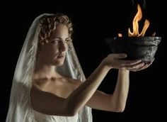 Honoring Hestia, Greek Goddess of the Hearth: Hestia's perpetual fire burned in every Greek village.