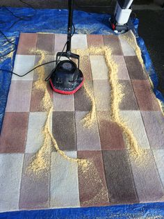 http://amzn.to/2fjw8vg There is more than one way to clean a rug. Dry compound carpet cleaning for that lightly soiled rug clean.