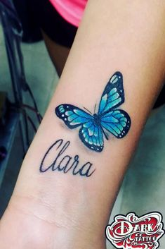 Beautiful And Meaningful Butterfly Tattoo Guide - Tattoos - Tattoo Quotes For Women, Quote Tattoos Girls, Baby Tattoos, Wrist Tattoos, Finger Tattoos, Sleeve Tattoos, Tattoos For Women, Tatoos, Shoulder Tattoos