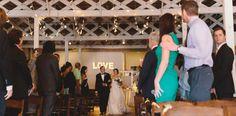 Wedding Ceremony at Stockroom - Brett & Jessica Photography - NC Wedding Planner - Orangerie Events