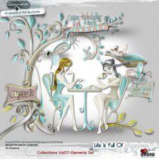 Collections Vol 07-Elements Set #CUdigitals cudigitals.comcu commercialdigitalscrapscrapbookgraphics