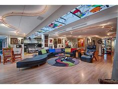 #HOT Home of Today - WOW! Here's one for our contemporary friends who love tons of color. Click the picture below to see more, or schedule your showing @ 405-802-HOME.