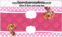 Saquinho de Balas Patrulha Canina para Meninas
