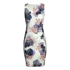 floral fitted dress excellent condition!! feel free to submit an offer H&M Dresses Midi