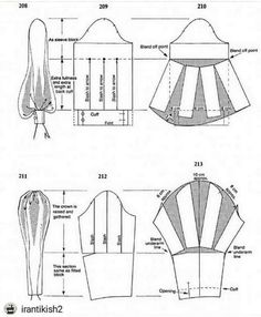 If you are unable to attend a pattern design class, pattern drafting class or flat pattern design class, may I… Techniques Couture, Sewing Techniques, Skirt Patterns Sewing, Clothing Patterns, Pattern Drafting Tutorials, Afghan Patterns, Coat Patterns, Sewing Sleeves, Paris Chic