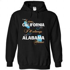 CALIFORNIA-ALASKA   - #shirt designs #print shirts. SIMILAR ITEMS => https://www.sunfrog.com/No-Category/CALIFORNIA-ALABAMA--6509-Black-Hoodie.html?id=60505